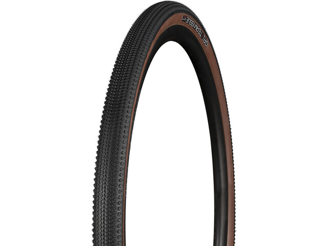 "Bontrager GR1 Team Issue Gravel Pneu souple 28x1.40"", black/brown"